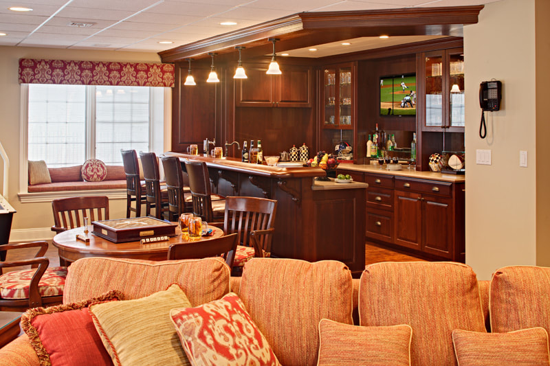 Sports Bar In Large Home New York