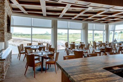 clubhouse restaurant at liberty national